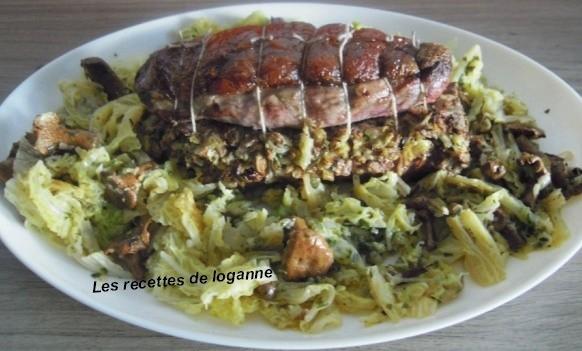 chou foie gras