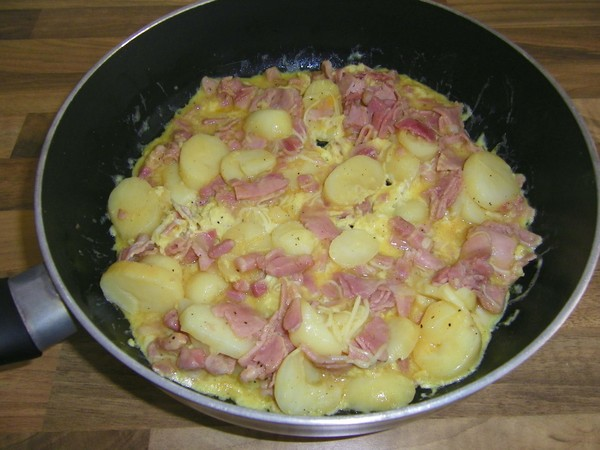 Omelette gourmande ma fa on - Conservation pommes de terre cuites ...