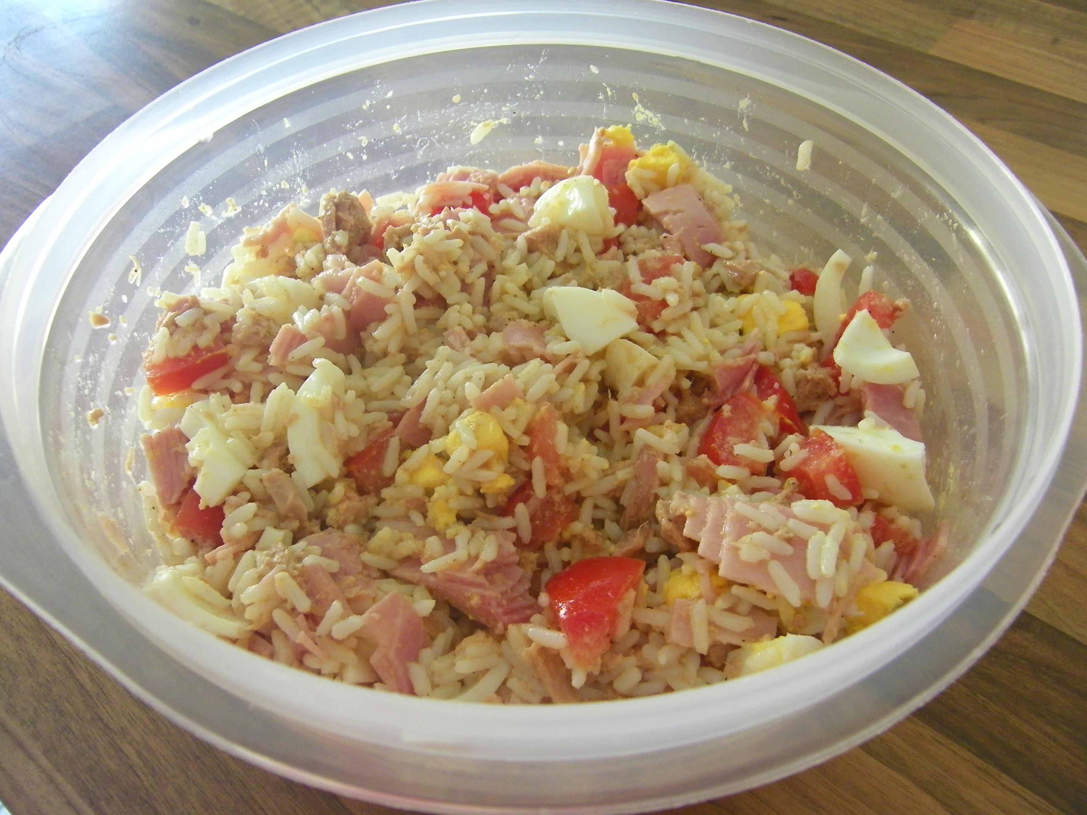 Salade De Riz Compos E