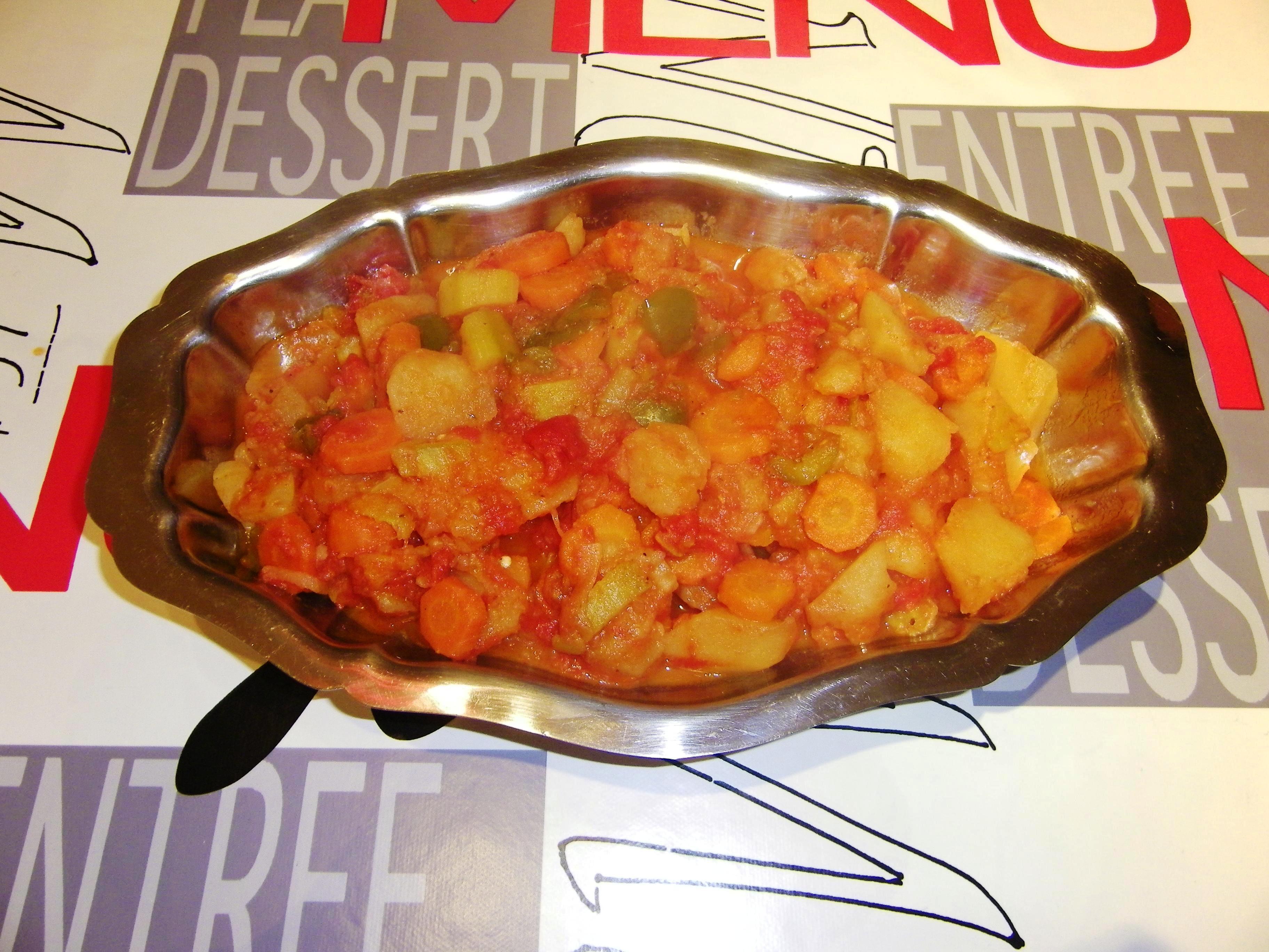 ratatouille carotte pomme de terre