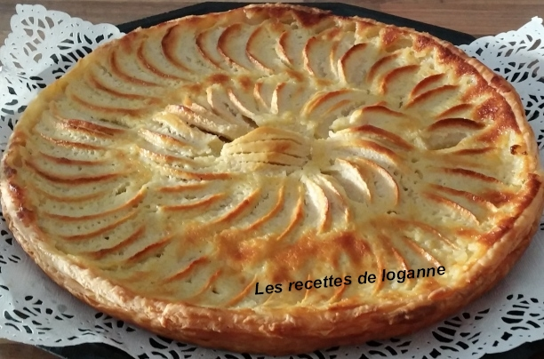 tarte aux pommes alsacienne. Black Bedroom Furniture Sets. Home Design Ideas